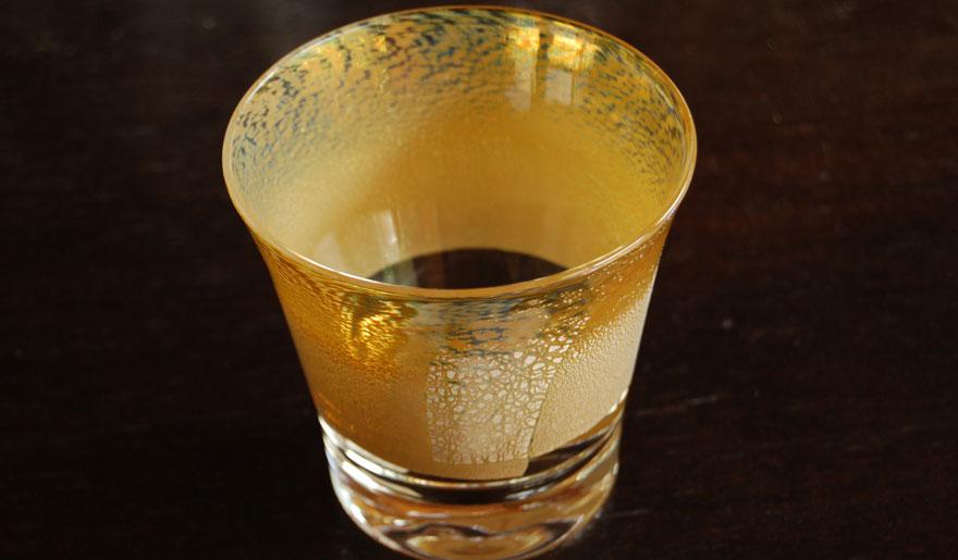 ロックグラス 黄銀